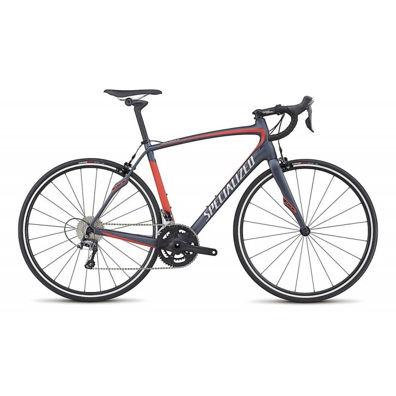 Specialized Roubaix SL4 (2017) satin ink/nordic red/silver