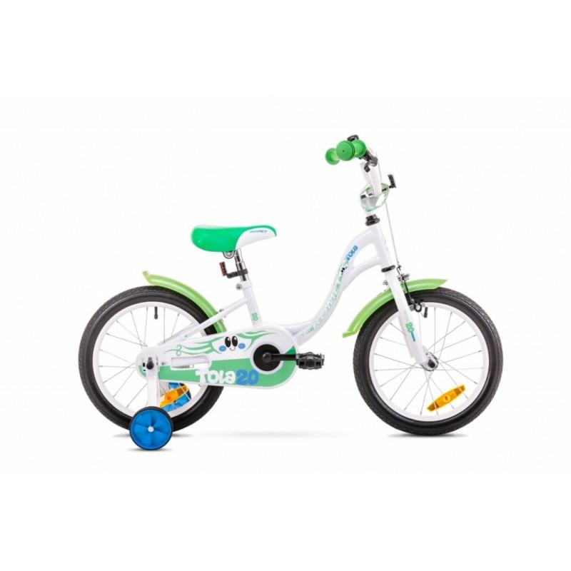 Romet Tola 20 biało-zielony (2019)