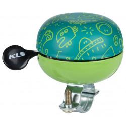 Dzwonek Kellys KLS BELL 60 Doodles zielony