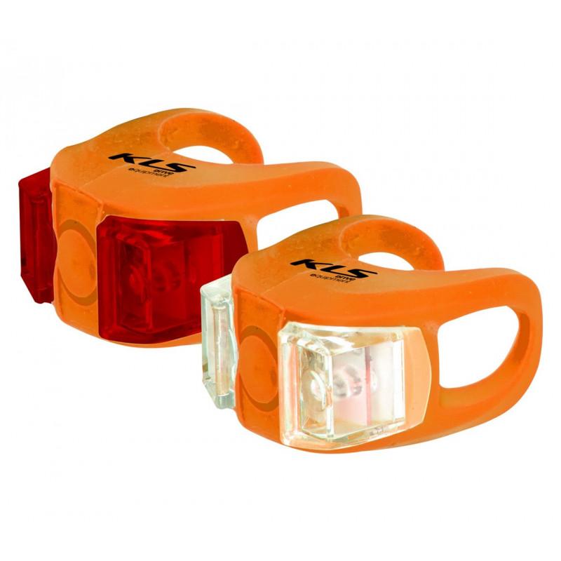 Zestaw oświetlenia Kellys KLS TWINS orange