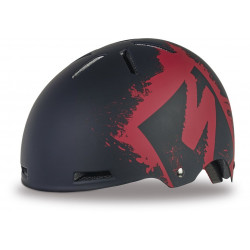 Kask Specialized COVERT KIDS red stencil XS