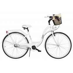 Rower miejski Milos 28'' Nexus 3 + kosz