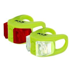Zestaw oświetlenia Kellys KLS Twins Led lime green