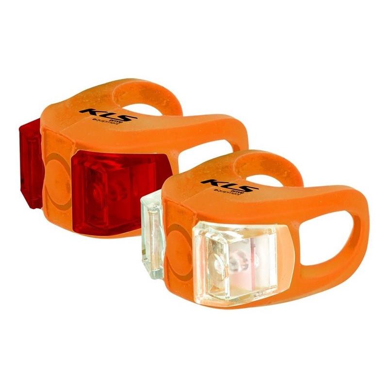 Zestaw oświetlenia Kellys KLS Twins Led orange