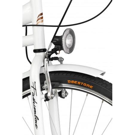 Rower miejski Margot 28'' torpedo Nexus 3 biały + kosz
