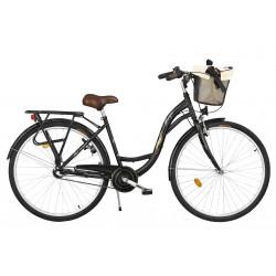 Rower miejski Margot 26'' ECO Nexus 3 czarny