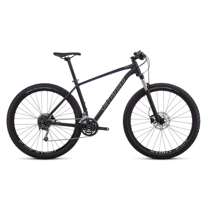 Specialized Rockhopper Expert 29 (2018) satin gloss tarmac black/ac blue/charcoal