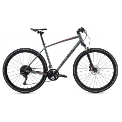Specialized CrossTrail Expert (2018) charcoal/candy red/black reflective
