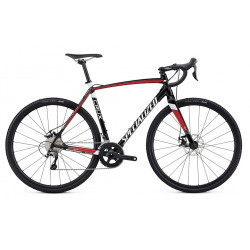 Specialized Crux E5 (2018) gloss tarmac black/flo red/metallic white