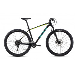 Specialized Rockhopper Pro 29 (2018) gloss tarmac black/hyper/acid mint