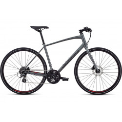 Specialized Sirrus Men (2020) charcoal/candy red/black reflective