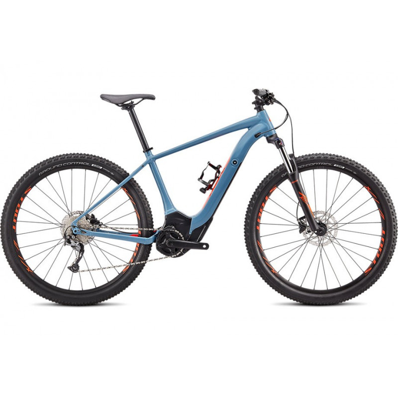 Specialized Turbo Levo Hardtail 29 (2020) storm grey/rocket red