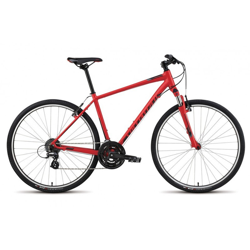 Specialized Crosstrail (2015) satin red/gloss black/charcoal