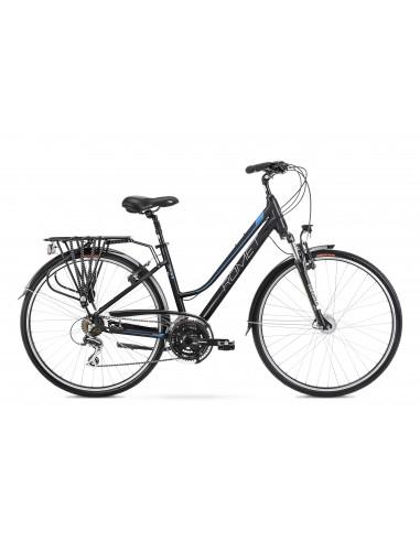 Romet Gazela 3 czarno-niebieski (2021)