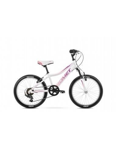 Romet Jolene 20 KID 2 biało-fioletowo-różowy (2021)
