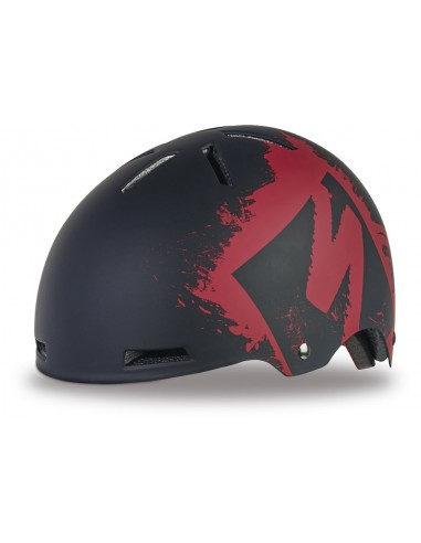 Kask Specialized Covert Kids red stencil